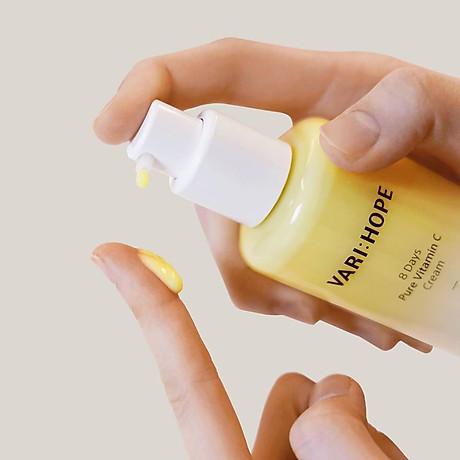 Kem Dưỡng Vari:Hope 8 Days Pure Vitamin C Cream 50ml