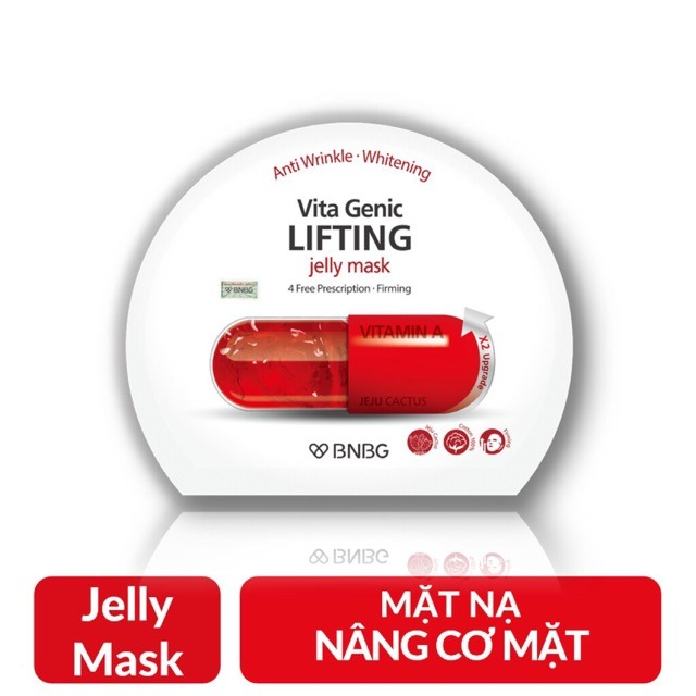 Mặt Nạ BNBG Vita Genic Jelly Mask X2 #Lifting
