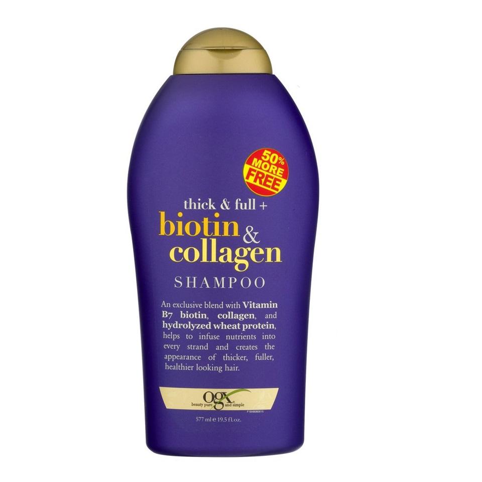 Dầu Gội Biotin Ogx 577Ml