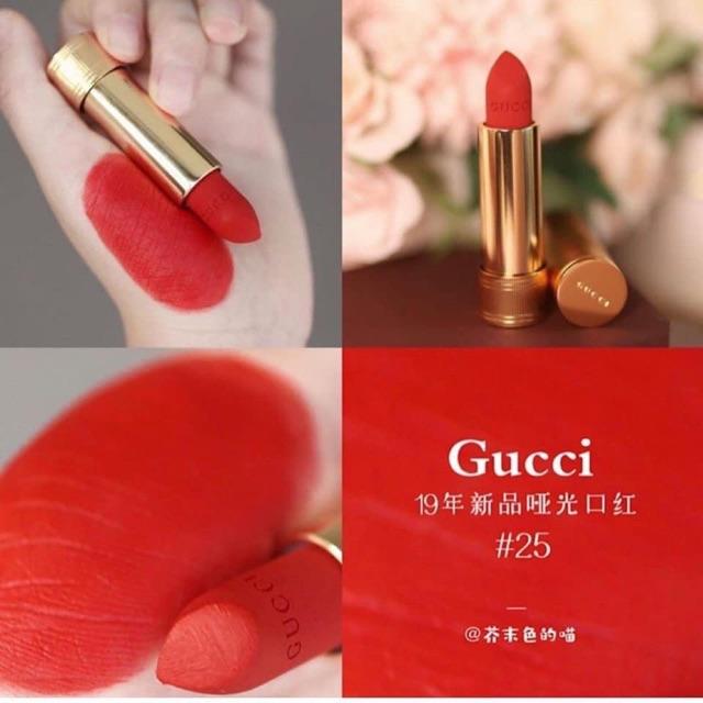 Son Gucci Roge Các Màu