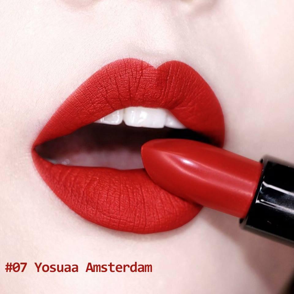 Son Yosuaa Matte Lipstick Version 2 #07 Amsterdam