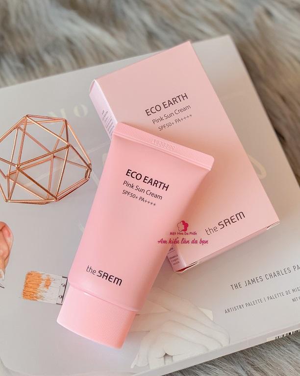 [Mẫu Mới 2020] Kem Chống Nắng The SAEM Eco Earth Power Sun Cream SPF50+ PA++++