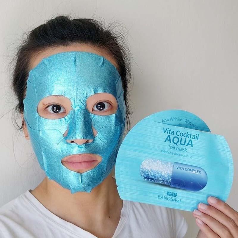 Mặt Nạ BNBG Vita Cocktail Foil Mask #Aqua