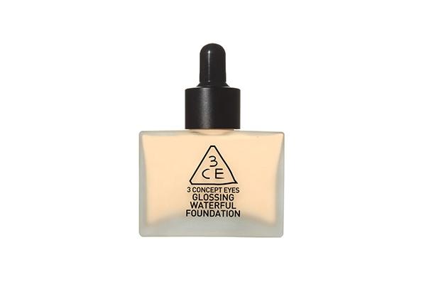 Kem Nền 3CE Glossing Waterful Foundation 40g #Soft Beige ( Chai )