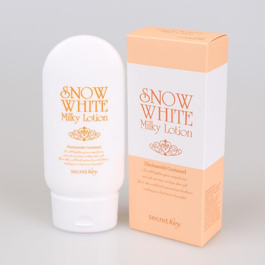 Sữa Dưỡng Secret Key Snow White Milky Lotion 120G