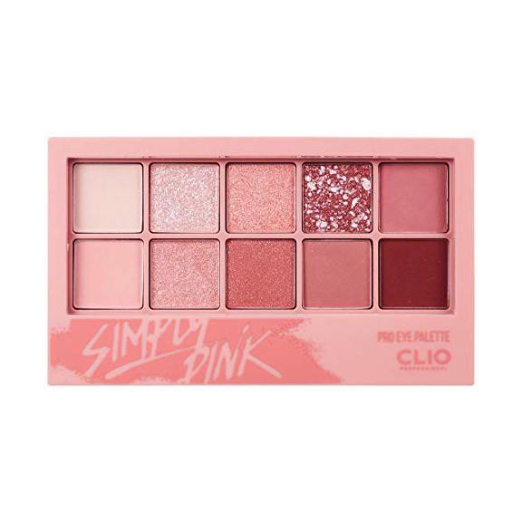 Màu Mắt Clio Pro Eye Palette 10 Ô #01 Simply Pink