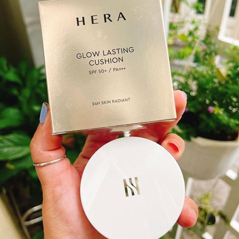 Phấn Nước Hera Glow Lasting Cushion SPF50/PA+++  #Dewy