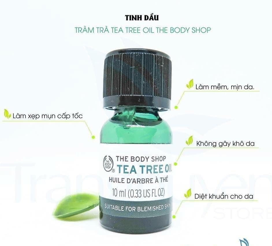 Tinh Dầu The Body Shop Tea Tree Oil 10Ml (Mới)