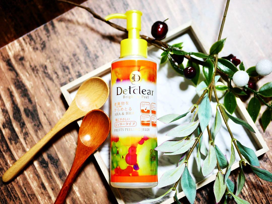 Tẩy Tế Bào Chết Dạng Gel Detclear Bright & Peel (Cam) 180ml