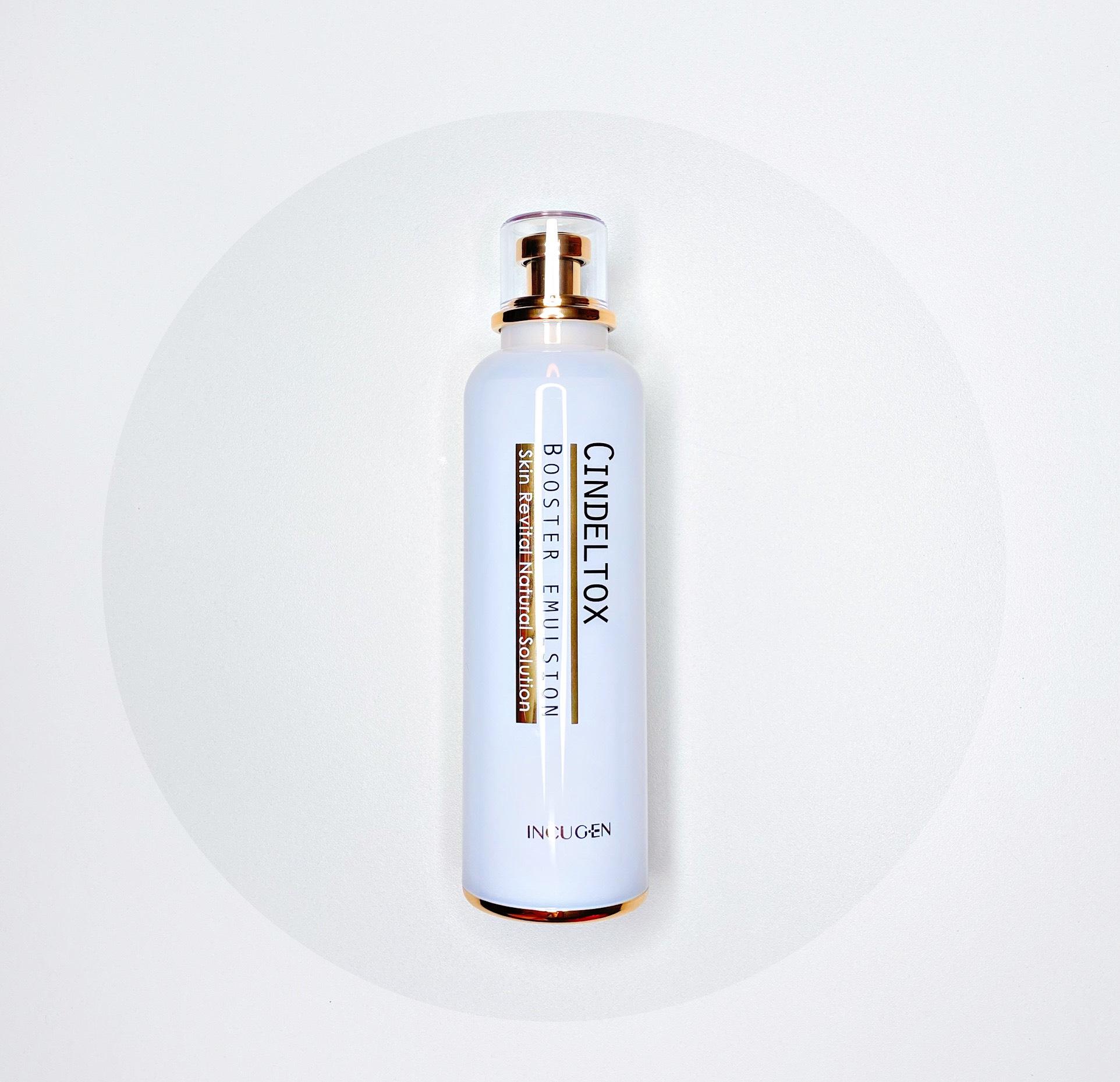 Nhũ Tương Dưỡng Trắng Da Cindeltox Booster Emulsion 7days Baby Face 120ml