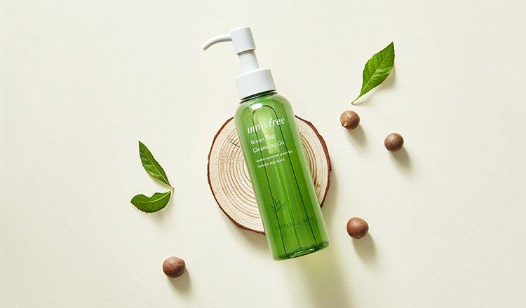 Tẩy Trang Innisfree Green Tea Cleansing Oil 150ml