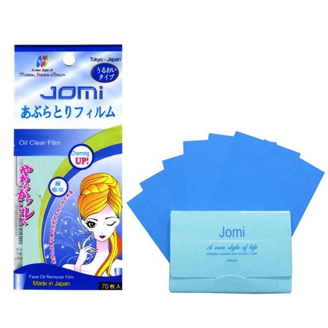ACC Giấy Thấm Dầu Jomi 70 Miếng (Nhật)
