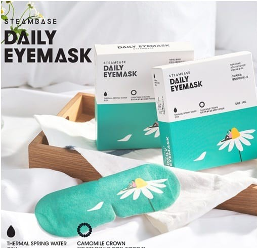 MẶT NẠ MẮT STEAMBASE DAILY EYEMASK - CAMOMILE CROWN
