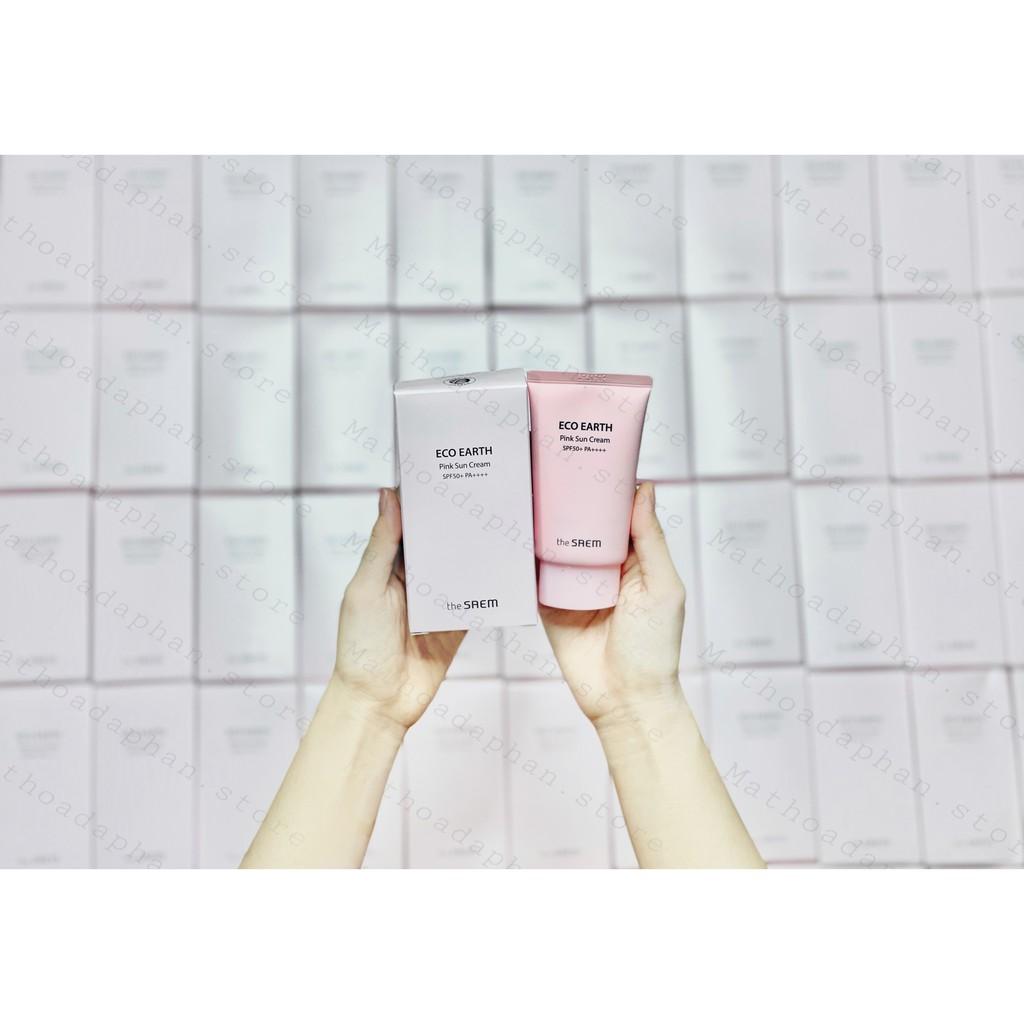 [Mẫu mới 2020] Chống Nắng The Saem Pink Sun Cream SPF 50+ PA+++