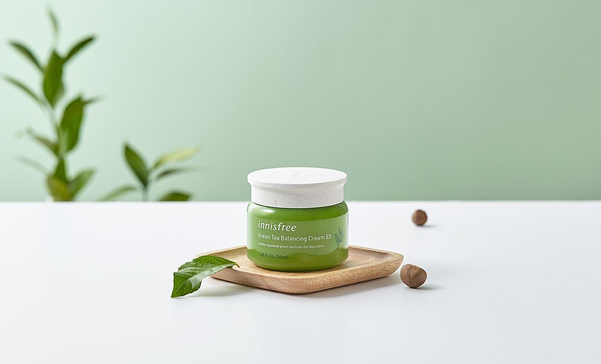 Kem Dưỡng Da Trà Xanh Innisfree Green Tea Balancing Ex 50ML