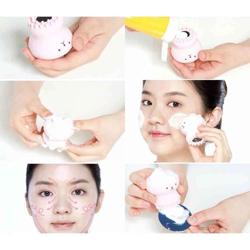 Cọ Rửa Mặt Bạch Tuột Vacosi Boover Cleanser DC03 (Cái)