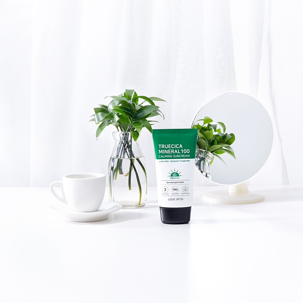 Chống Nắng Some By Mi TrueCica Mineral 100 Calming 50ML