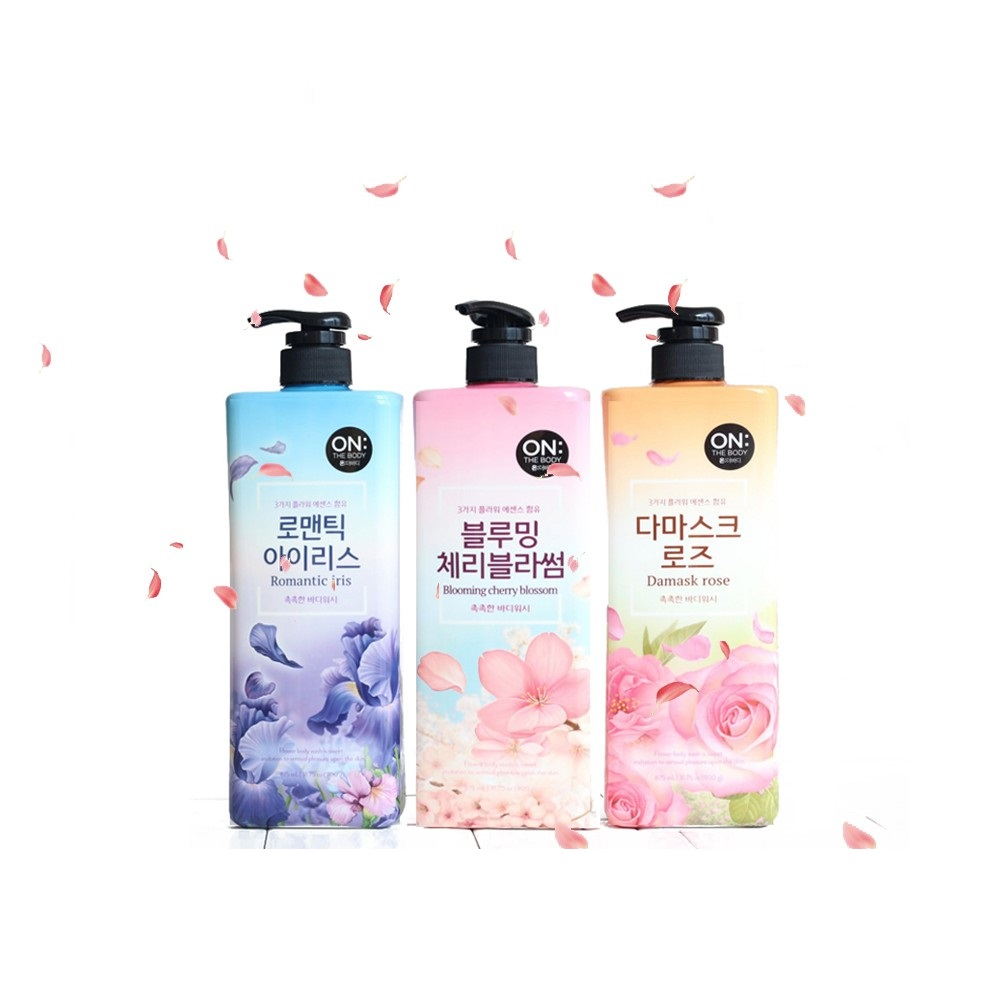 Sữa Tắm On The Body #Damask Rose 875ml