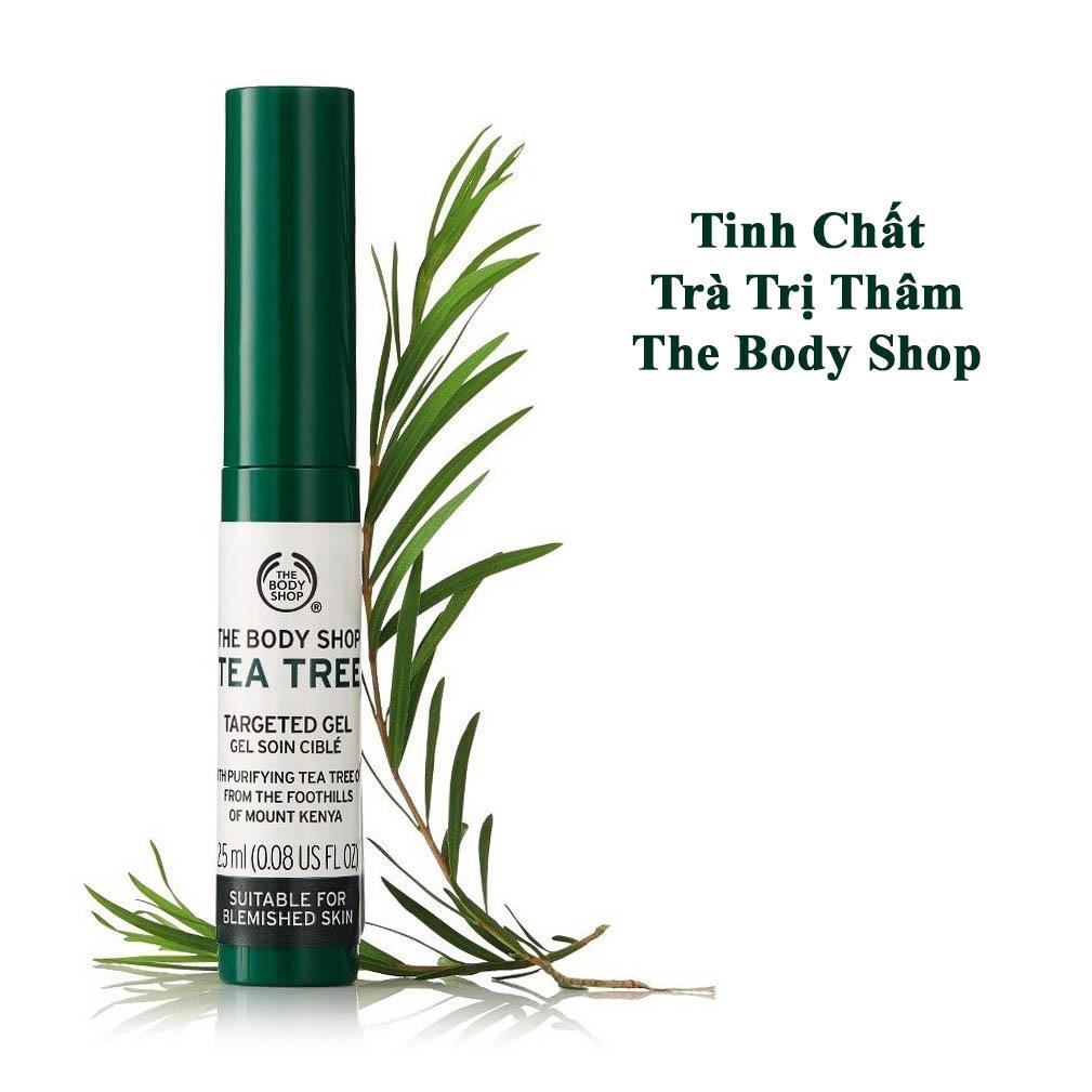 Chấm Mụn The Body Shop Tea Tree Targeted Gel 25ml
