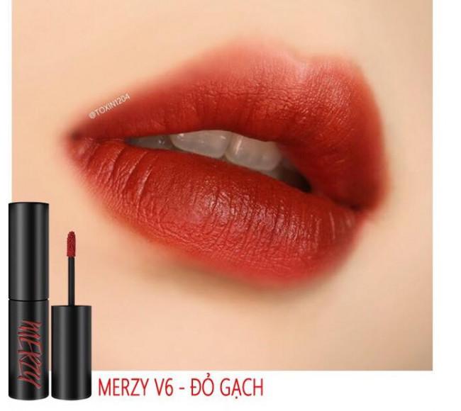 Son Kem Merzy Velvet Tint #V6 Firenze Negroni