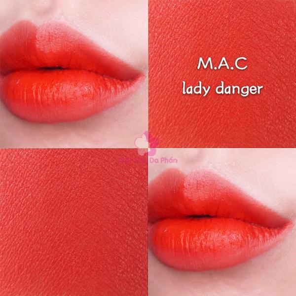 Son MAC Matte Lipstick #607 Lady Danger (Mini)