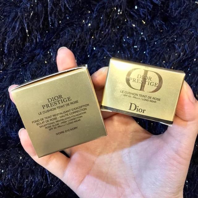 Cushion Dior Prestige Le Cushion Teint De Rose #010 Ivory