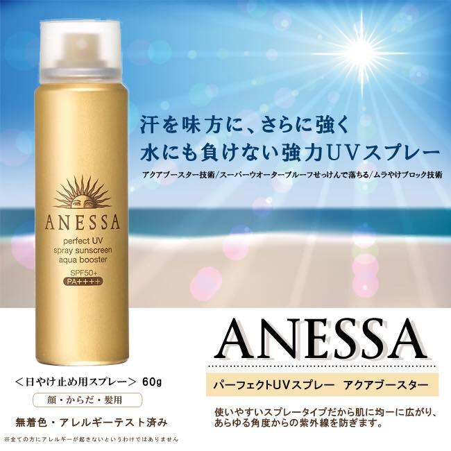 Xịt Chống Nắng Anessa Perfect Uv Spray Sunscreen 60g