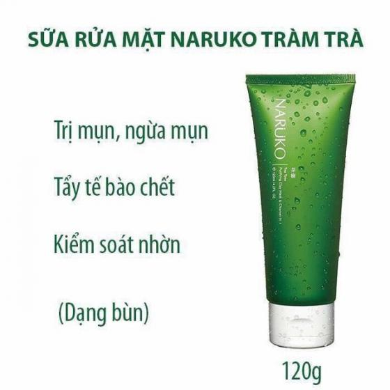 SRM Naruko Tea Tree Purifying Clay Mask & Cleanser In 1 120g (Tuýp)