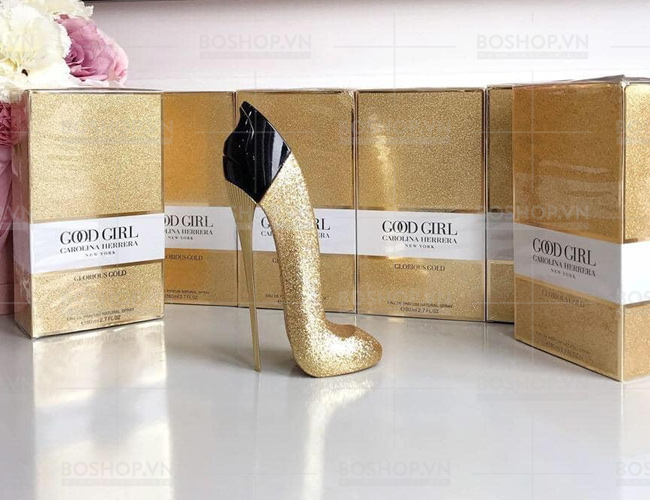 Nước Hoa Good Girl Carolina Herrera New York Glorious Gold EDP 80ml