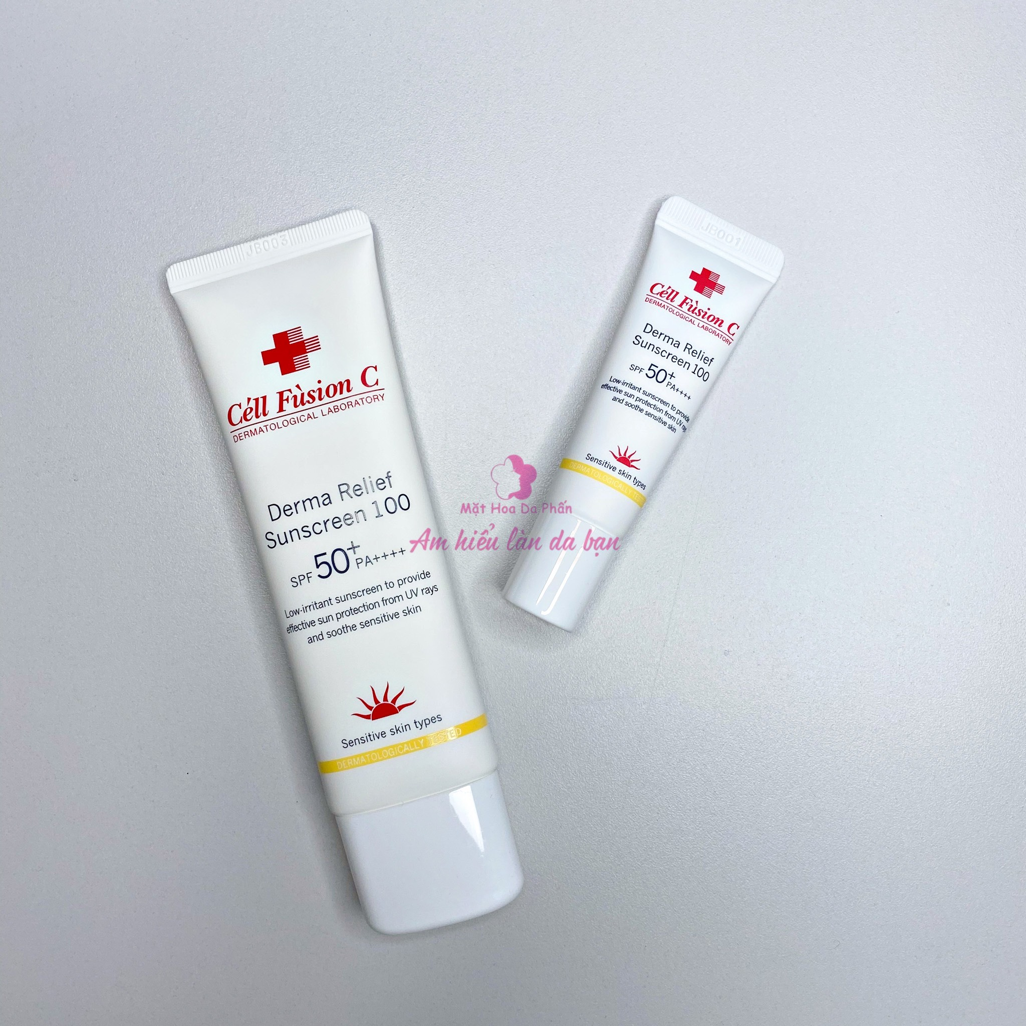 Kem Chống Nắng Nâng Tone Cell Fusion C Derma Relief Sunscreen 100 10ml (hộp)