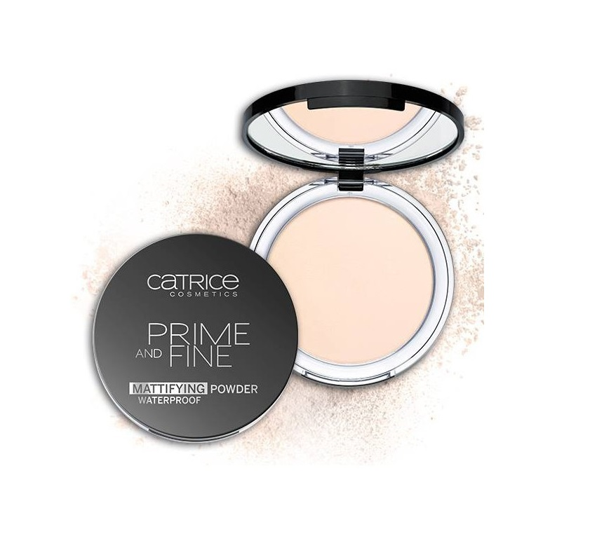 Phấn Catrice Prime And Fine Mattifying Powder Waterpfroof
