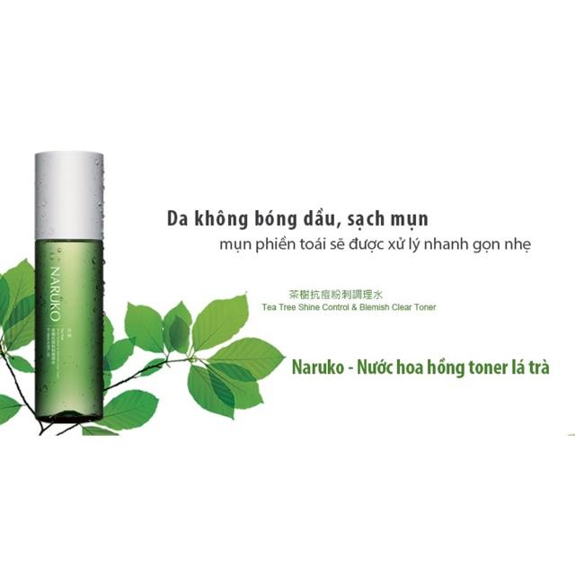 Nước Cân Bằng Naruko Tea Tree Shine Control & Blemish Clear Toner 150ml
