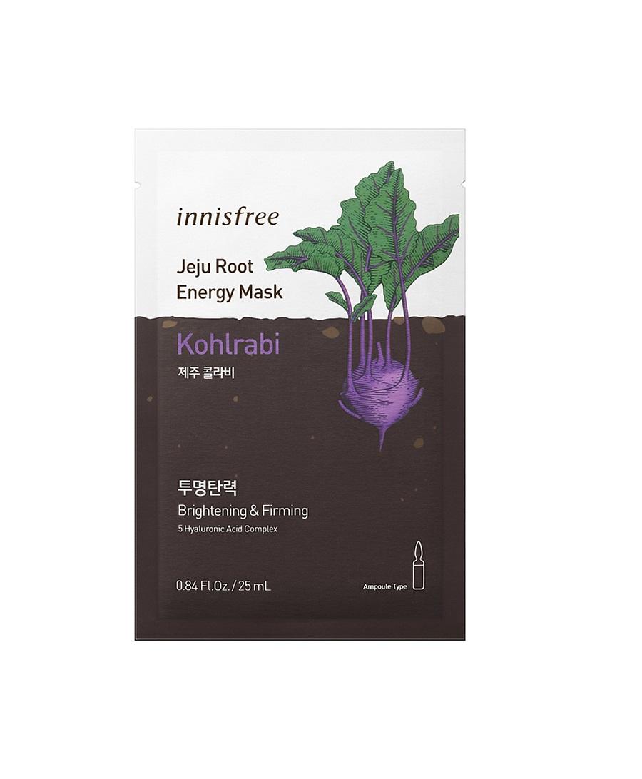 Mặt Nạ Innisfree Jeju Root Energy Mask #Kohlrabi 25m