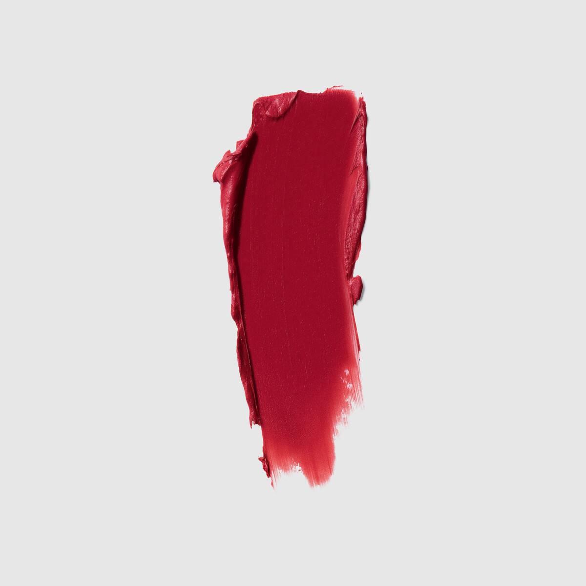 Son Gucci Rouge À Lèvres Voile Mat #502 Eadie Scarlet