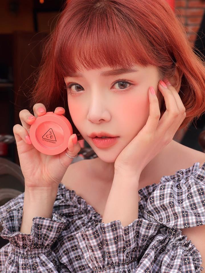 Má Hồng 3CE Face Blush #Full Of Charm
