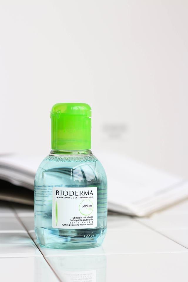 Tẩy Trang Bioderma Sebium H2O 100ml CTY