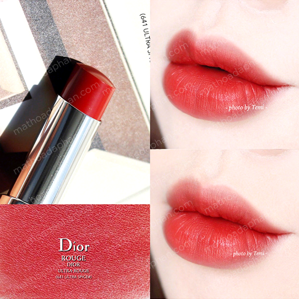 Son Dior Ultra Rouge #641 Ultra Spice