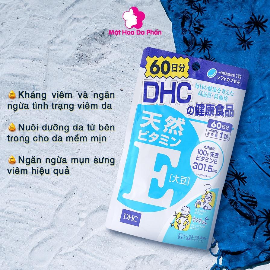 TPCN Viên Uống DHC Vitamin E 60 Viên