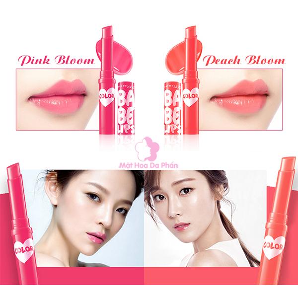 Son Dưỡng Maybelline Baby Lips Bloom Spf16 Peach Bloom