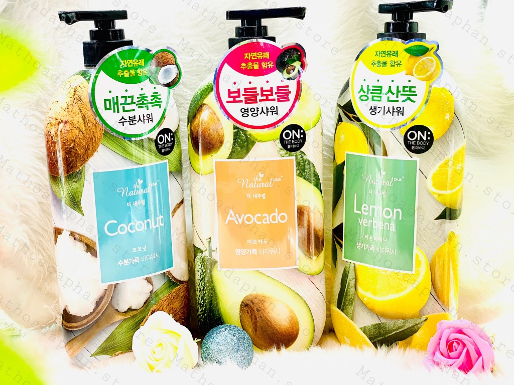 Sữa Tắm On The Body The Natural Plus Coconut Body Wash 900g