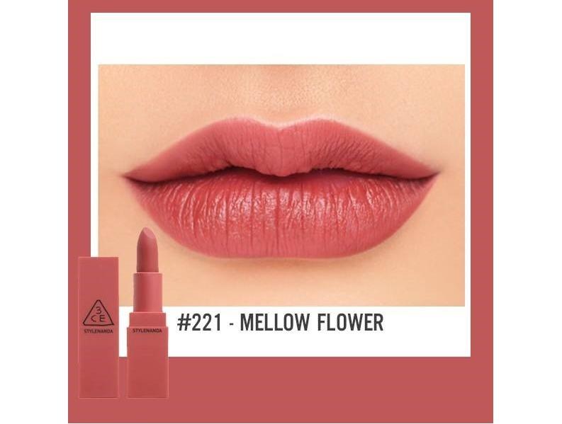 Son 3CE Mood Recipe Matte Lip #221 Mellow Flower