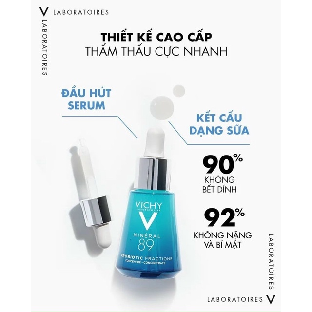 Tinh Chất Vichy Mineral 89 Probiotic Fractions 30ml