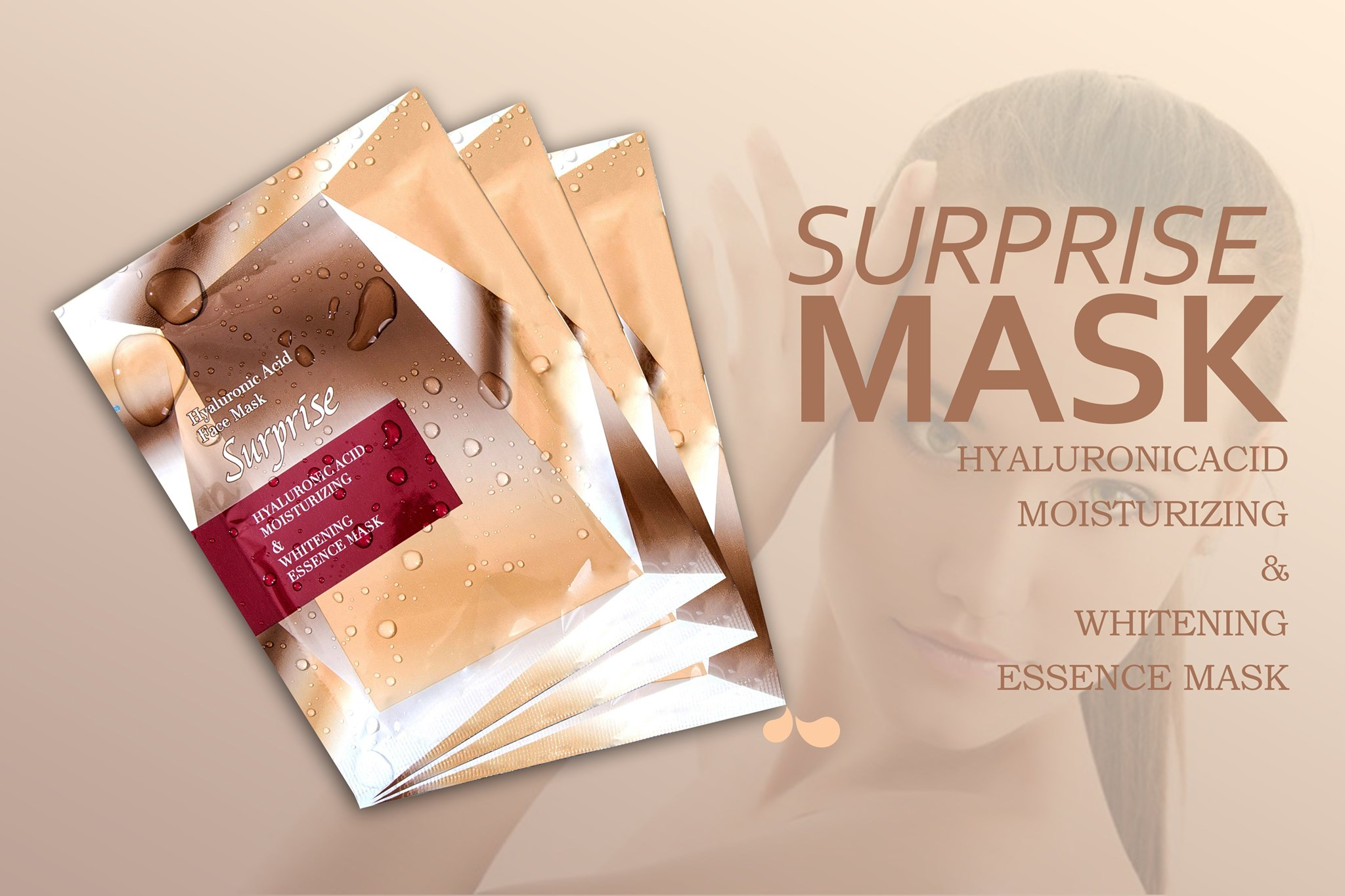 Mặt Nạ Hyalyronic Acid Face Mask Surprise