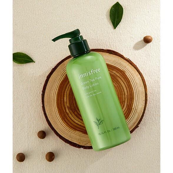 Dưỡng Thể Trà Xanh Innisfree Green Tea Pure Body Lotion 300ml