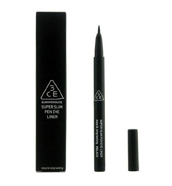 Bút Kẻ Mắt 3CE Super Slim Pen Eyeliner (cây)