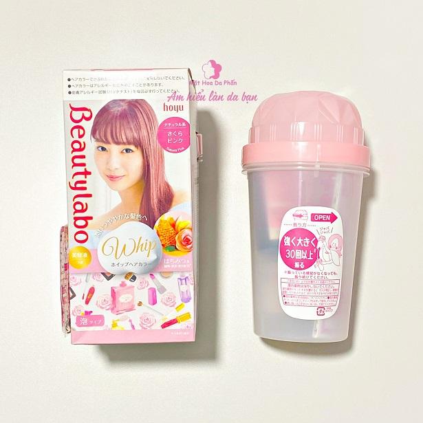 Nhuộm Tóc Beautylabo Whip Hair Color #Hồng Đào Sakura