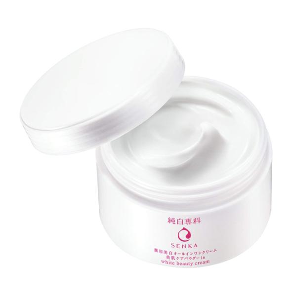 Kem Dưỡng Senka White Beauty Glow UV Day Cream 50g