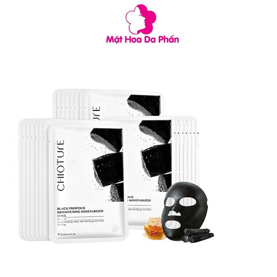 Mặt Nạ Chioture Black Propolis Brightening Moisturized Mask 30K SALE 25K