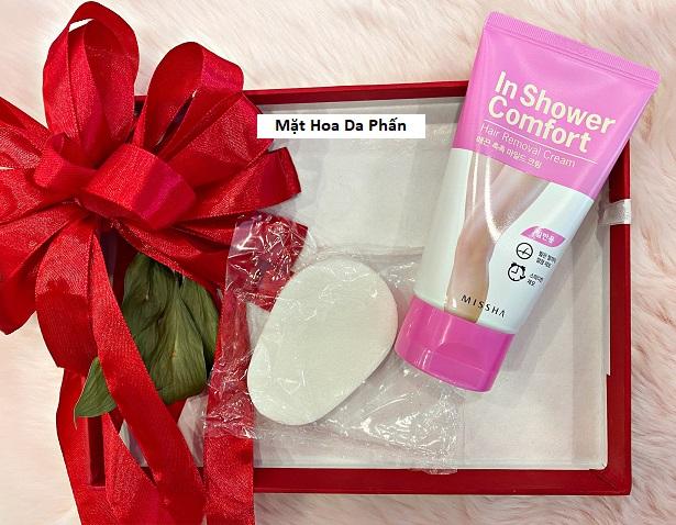 Tẩy Lông Missha In Shower Comfort #Normal Skin (Hồng)