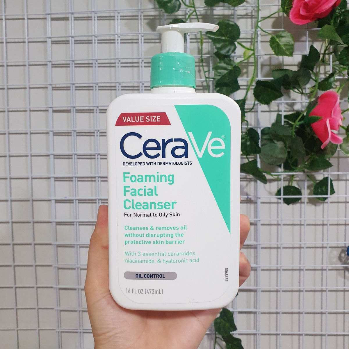 SRM Cerave Foaming Facial Cleanser For Normal To Oil Skin 473ml